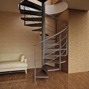 Металлическая винтовая лестница на заказ, ЛС-112