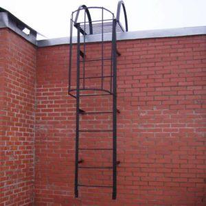 Металлическая вертикальная пожарная лестница, ЛС-121