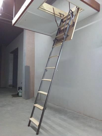 Металлическая чердачная лестница, ЛС-126