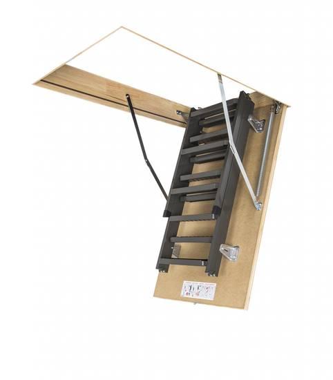 Металлическая складная чердачная лестница, ЛС-128