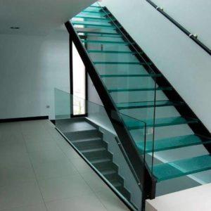 Стеклянная лестница на заказ, ЛС-136
